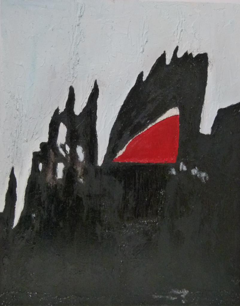 Combustion acrylique et polym re vernis sur toile 40 x 50 - Vernis sur peinture acrylique ...